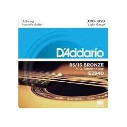 D'ADDARIO EZ940 American Bronze (12 strings)