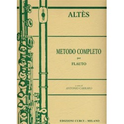 ALTES METODO COMPLETO PER FLAUTO TRAVERSO