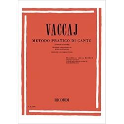 vaccaj n. metodo pratico di canto