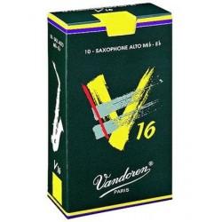VANDOREN ANCIA SAX ALTO V16 2,5 (10 PZ)