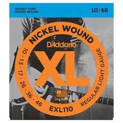 D'ADDARIO EXL110 REGULAR LIGHT