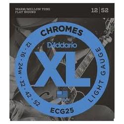 D'ADDARIO ECG25 CHROMES LIGHT