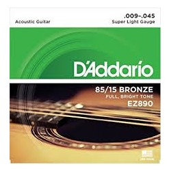 D'ADDARIO EZ890 AMERICAN BRONZE