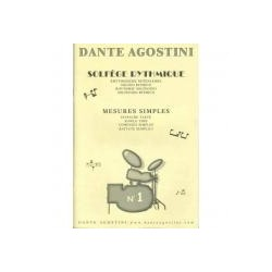 AGOSTINI D. - SOLFEGGIO RITMICO VOL. 1