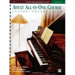 ALFRED - ALFRED'S BASIC ADULT ALL IN ONE COURSE LIV. 3