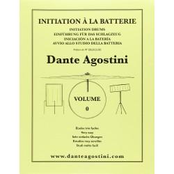 AGOSTINI - METODO DI BATTERIA VOL. 0 - INTRODUZIONE ALLA BATTERIA