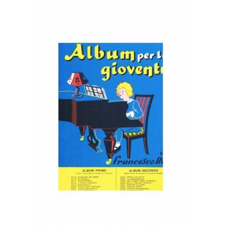 BEHR : ALBUM PER LA GIOVENTU' VOL 1 pezzi facili per pianoforte in chiave di violino MAURRI