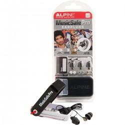 ALPINE MUSICSAFEPRO-MKIII-BK Kit auricolari per protezione uditiva con 3 filtri attenuazione
