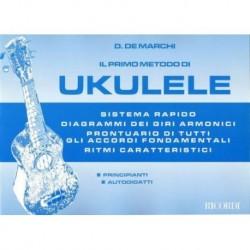il primo metodo di ukulele - de marchi - ed.ricordi