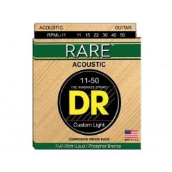 DR STRINGS RPML-11 Rare Acoustic